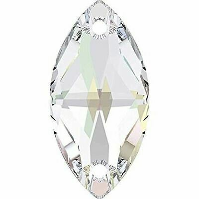 3223 Swarovski® Sew On Crystals Navette • 3.42£