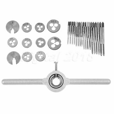 $31.64 • Buy M1-M2.5 Thread Screw Tap & Threading Die & Wrench Kit Woodworking Hand Tool 1Set