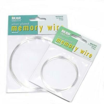 Silver Plated Memory Wire For Jewellery Making • 2.69£