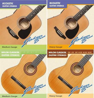 $ CDN6.93 • Buy Johnny Brook High Quality Acoustic Classical Guitar Strings String Pack Of 6
