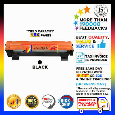 AU38.20 • Buy 5x NoN-OEM TN1070 TN 1070 Toner For Brother DCP1510 HL1110 MFC1810  HL1210W