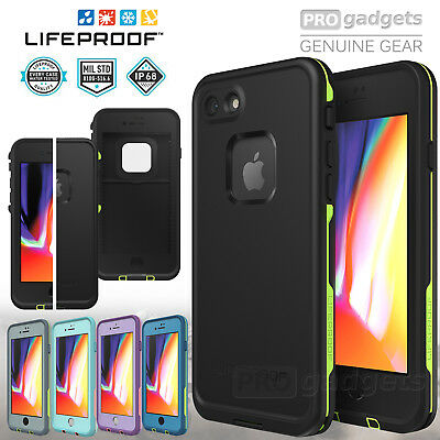 AU83.99 • Buy Genuine Lifeproof FRE Water Proof Cover For Apple IPhone SE 2020/ 8/ 7 Plus Case
