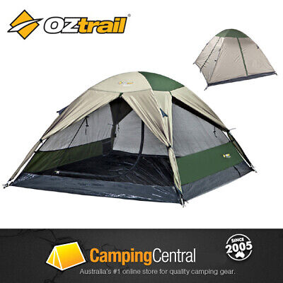AU59.95 • Buy OZTRAIL Classic Skygazer 3 Dome Hiking Man 3 Person Tent *BR NEW*