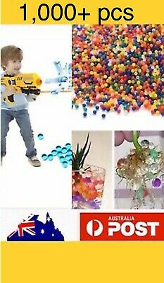 AU2.85 • Buy 1000+ Orbeez Mixed Colours Crystal Water Plant Beads Bio Hydro Gel Ball Garden