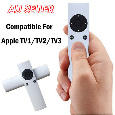 AU8.98 • Buy Replacement Universal Infrared Remote Control Compatible For Apple TV1 TV2 TV3