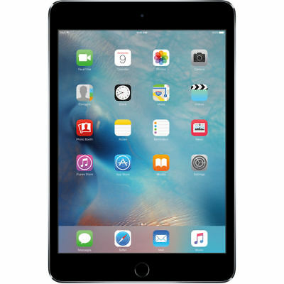 NEUF APPLE IPAD MINI 4 128GB RETINA DISPLAY WIFI TABLET GRIS SPACE GRAY MK9N2