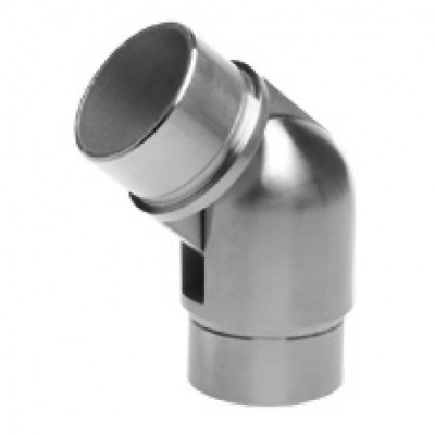 Adjustable Elbow Connector To Suit 42.4mm Tube 304-316 Grade Stainless Steel • 14£