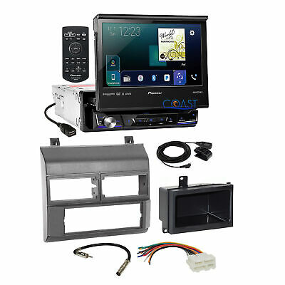 $499.95 • Buy Pioneer Flip Out Touchscreen Stereo Gray Dash Kit Harness For 88-94 Chevy GMC