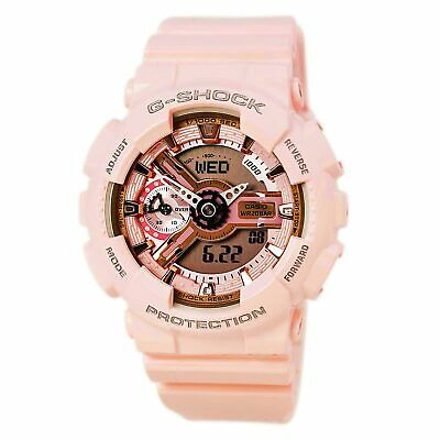 $ CDN123.25 • Buy Casio Women's Watch G-Shock S Series Pink & Grey Dial Strap GMAS110MP-4A1