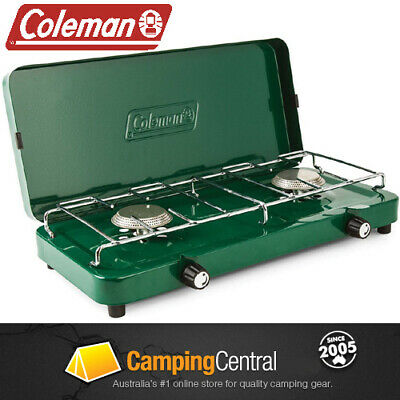 AU64.95 • Buy Coleman Compact 2 Burner Stove Cooker Gas Camping 1451707