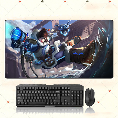 AU33.49 • Buy GAME Overwatch OW Mei Extra Large Mouse Pad Free Shipping(31.5'' *15.7'')
