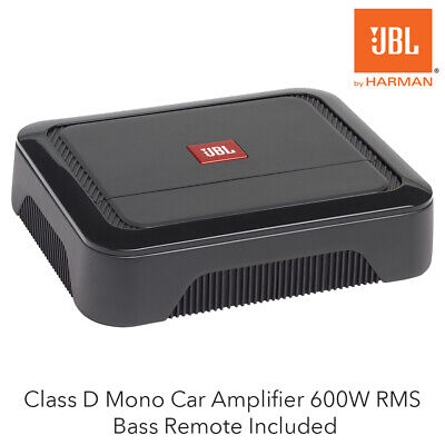 JBL CLUB A600 - Class D Mono Car Amplifier 600W RMS Bass Remote Included • 179.95£