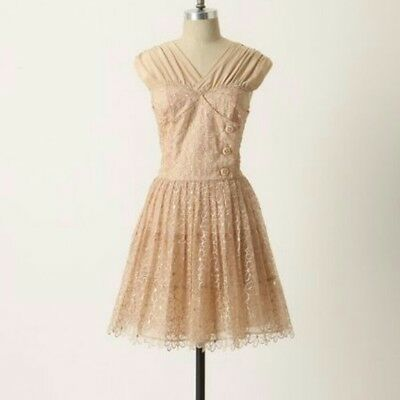 $ CDN120 • Buy NWT Anthropologie Picture Show Dress Frock Plenty By Tracy Reese Size 4 $298