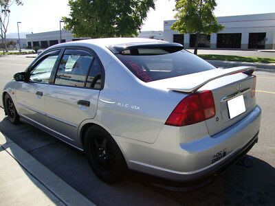 $569.95 • Buy HIC USA 2001 To 2005 Civic 4dr Rear Roof Window Visor Spoiler Brand NEW