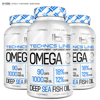 AU32.09 • Buy OMEGA 3 Supplement - 1000 Mg Deep Sea Fish Oil Concentrate EPA DHA Heart Health