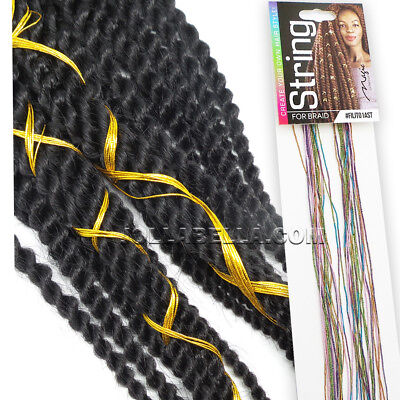 $5.99 • Buy Magic String Box Braids Hair Accessories Braiding Hair Deco Styling Thin Shimmer