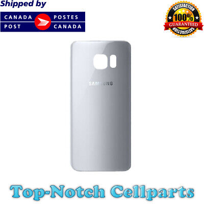 $ CDN12.95 • Buy Samsung Galaxy S7 Edge Rear Back Battery Cover Door With Adhesive - Silver