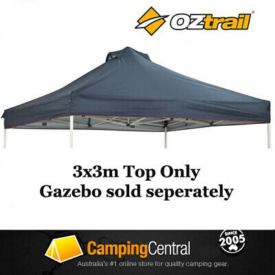 AU89.95 • Buy OZTRAIL 3x3M (150D BLUE) CANOPY FOR DELUXE GAZEBO REPLACEMENT ROOF