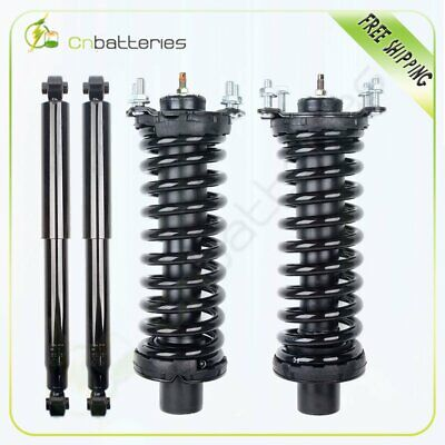 $144.89 • Buy For 2002-2012 Jeep Liberty Complete Front Struts W/ Spring & Rear Shocks Set Kit