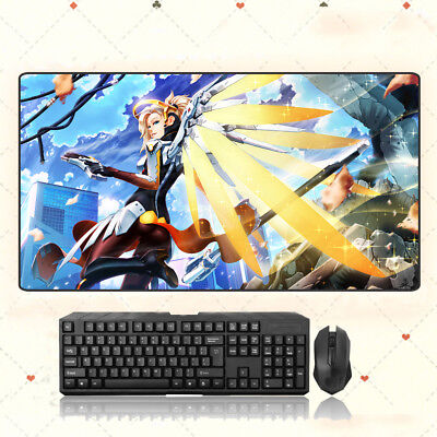 AU35.33 • Buy GAME Overwatch OW Mercy Extra Large Mouse Pad Free Shipping(31.5'' * 15.7'')