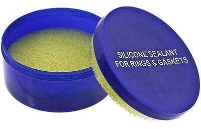 Silicone Sealant Box Grease Pad For O-Rings And Gaskets Watch Repair Waterproof • 6.56£