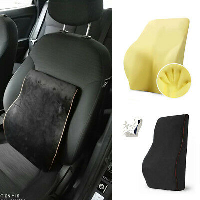 $ CDN48.23 • Buy Comfortable Car Memory Foam Back Cushion Lumbar Support Pillow Waist Support New