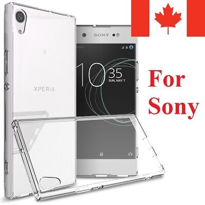 $ CDN4.95 • Buy For Sony Xperia Case - Crystal Clear Thin Soft Transparent TPU Back Cover