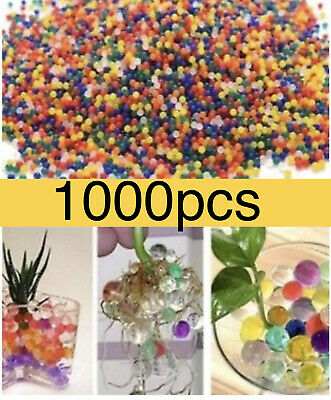 AU4.09 • Buy 1000 Orbeez Mixed Colours Crystal Water Plant Beads Bio Hydro Gel Ball Garden