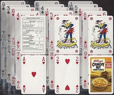 Kelloggs-full Set- Playing Cards (x56 Cards) - Exc+++ • 2.99£