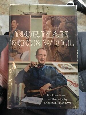 $ CDN190.40 • Buy Norman Rockwell   My Adventures As An Illustrator  Signed First Edition