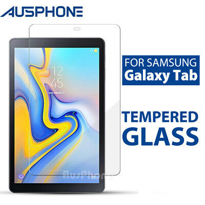 AU7.95 • Buy Tempered Glass Screen Protector For Samsung Galaxy Tab A 8.0 10.1 10.5 S5e S6 A7