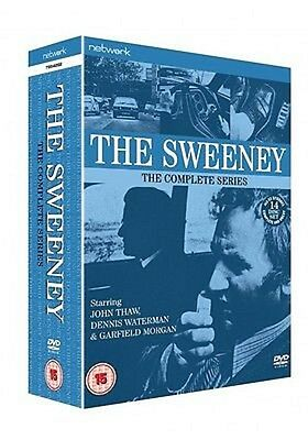 THE SWEENEY-Complete Series 1-4      Box Set     New        Fast Shipping • 35.99£