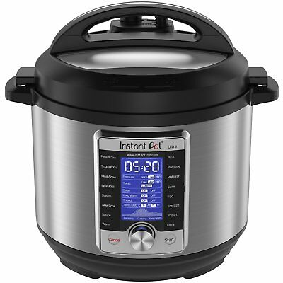 $299.99 • Buy Instant Pot Ultra 6 Qt 10-in-1 Multi- Use Programmable Pressure Cooker