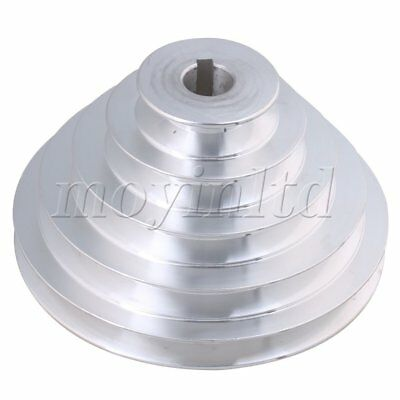 AU37.43 • Buy 5.4-15cm OD 1.9cm Bore A Type Timing Belt 5Step Pagoda Pulley Belt