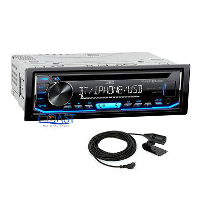 AU125.66 • Buy JVC Bluetooth Car Stereo Spotify MP3 Aux USB Removable Faceplate Media Receiver