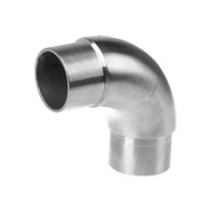 Stainless Steel Curved 90 Degree Elbow Joint To Suit 42.4mm Handrail Tube • 12£