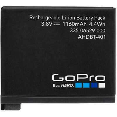 $ CDN19.02 • Buy GoPro AHDBT-401 Rechargeable Battery For Hero 4