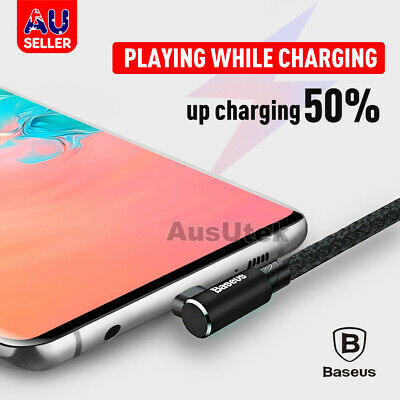 AU7.99 • Buy For Samsung Galaxy Note 10 + 9 S8 S9 S10 A70 A50 Type-C Fast Charging Sync Cable