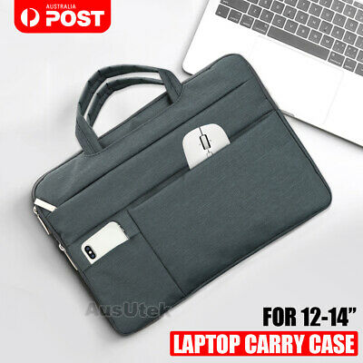 AU19.99 • Buy 13.3  13.5 14  Laptop Bag Carry Case For Dell HP Sony Acer Asus Samsung Notebook