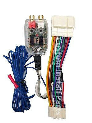 $20 • Buy Factory Radio Amplifier Amp Sub Wire Harness + Inline Converter Interface Kit