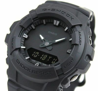 AU127.90 • Buy Casio G-Shock Mens Watch G100BB-1A G-100BB-1ADR Digital-Analogue Black Free Post