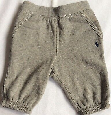 £14.99 • Buy New Ralph Lauren Boys Fleece Pull-on Pant /tracksuit Bottoms Joggers 9Months