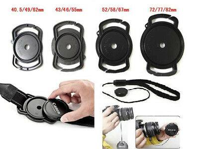 AU4.95 • Buy Camera Lens Cover Cap Holder Leash Strap For Canon Nikon Sony Cameras