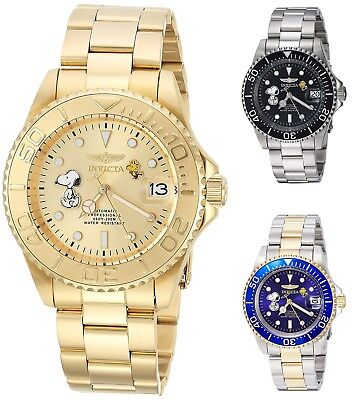 62cbd4b552 Invicta Character Collection Snoopy Men's 40mm Automatic Watch - Choice Of  Color • 80.50€