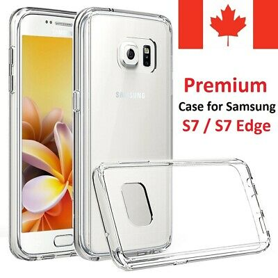 $ CDN5.99 • Buy Premium Clear  Case Back Cover For Samsung Galaxy S7 & Galaxy S7 Edge