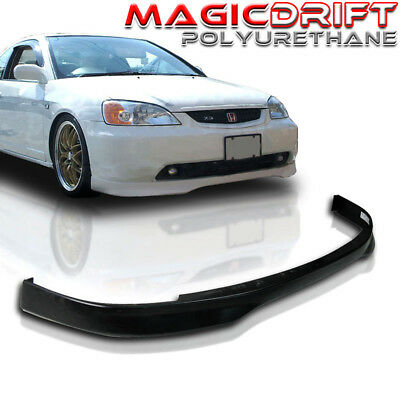 $66.88 • Buy For 01 02 03 Honda Civic CTR Type-R Style Front Bumper Lower Lip URETHANE