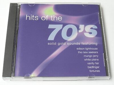 Hits Of The 70's - Solid Gold Sounds (CD Album) Used Very Good • 2.25£