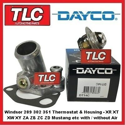 AU39.95 • Buy Ford Windsor 289 302 351 XR XT XW XY ZA ZB ZC ZD V8 Dayco Thermostat & Housing