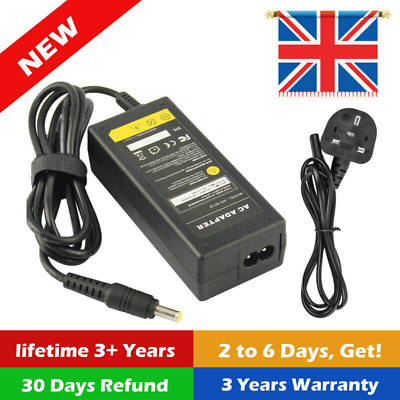 Replacement 19V  Laptop AC Charger For Samsung RV520 R510 R530 R719 UK • 10.99£