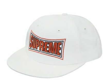 $ CDN78.85 • Buy SOLD OUT Supreme New York SS18 White Metallic Arc 6-Panel